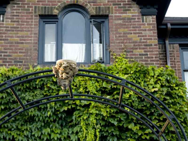 welcoming gargoyle