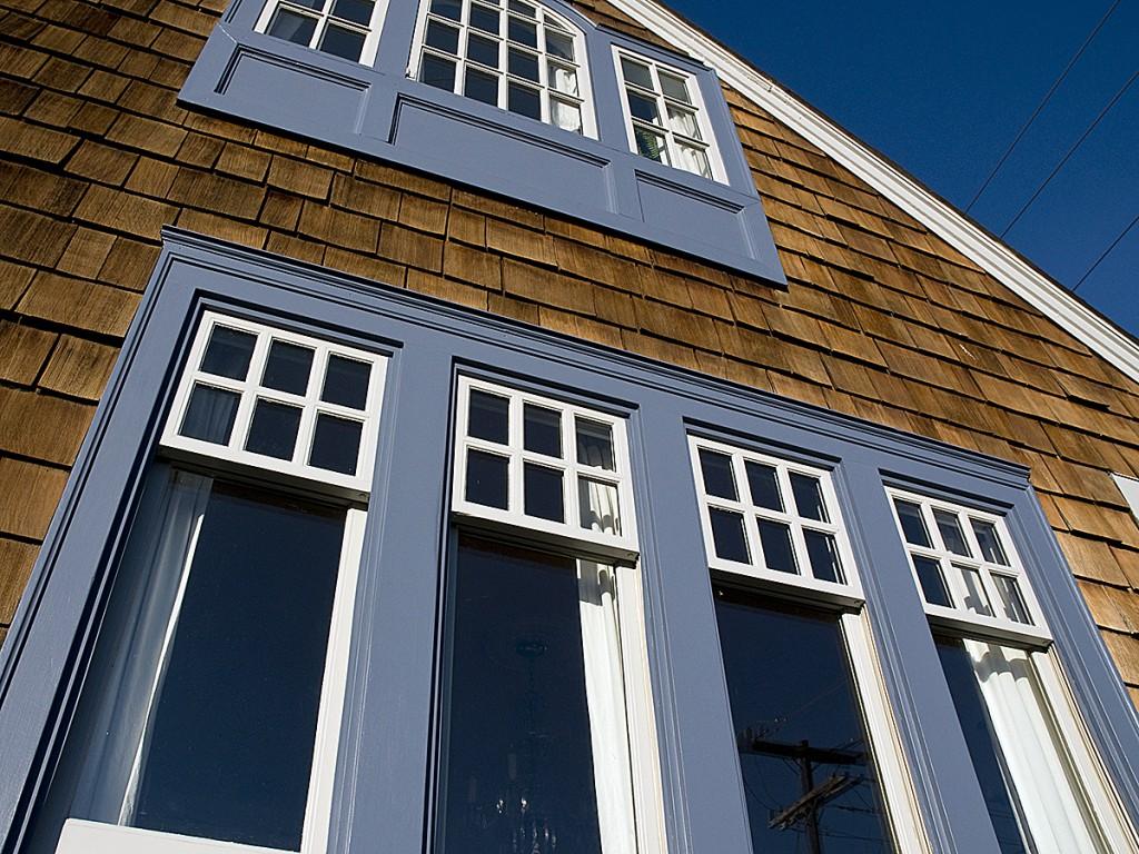 vertical windows view